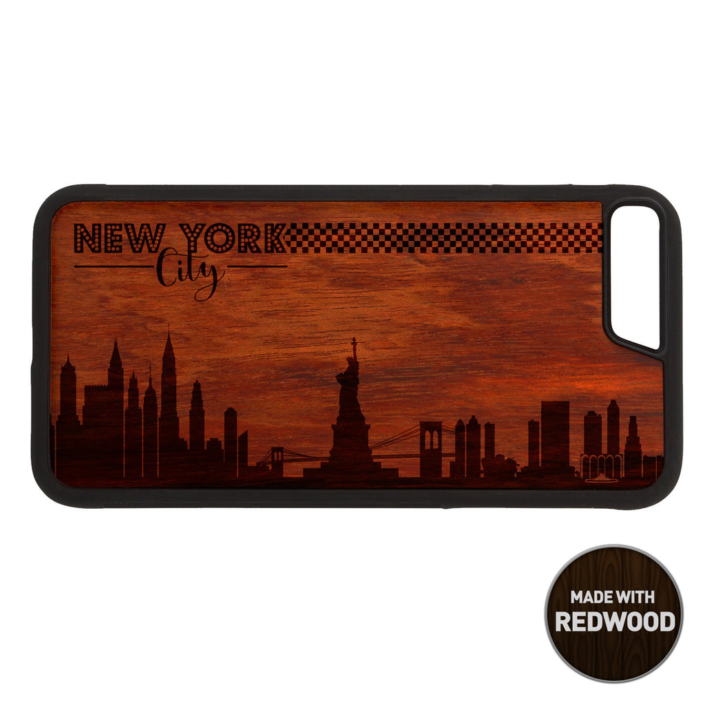 New York City Skyline Wooden Phone Case / Skyline Series iPhone case - iWood inc