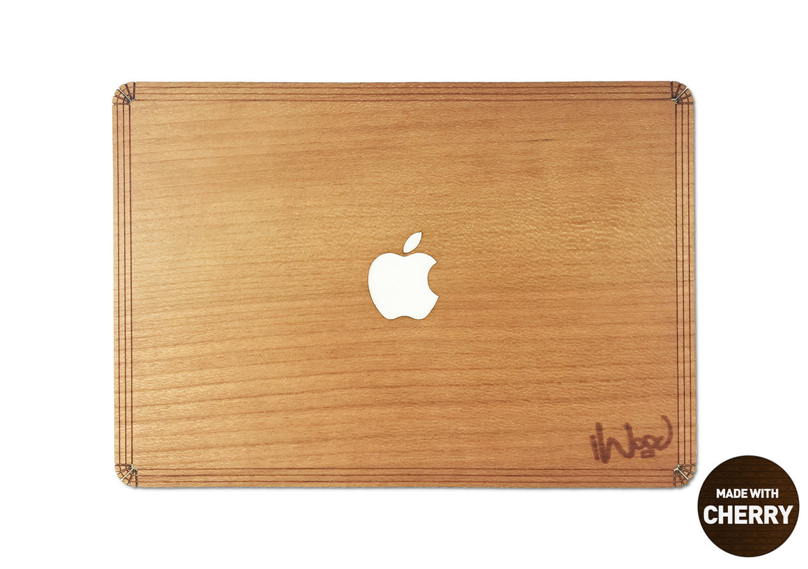 The Mac and Keys combo - Wood MacBook Skin and Wood MacBook Keyboard - Bundle Offer (RRP: £50)  - iWood inc