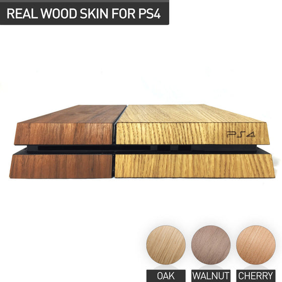 Playstation 4 Wood Skin Playstation - iWood inc
