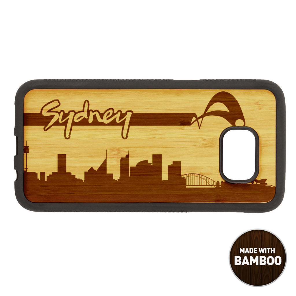 Sidney Skyline Wooden Phone Case / Skyline Series iPhone Case - iWood inc