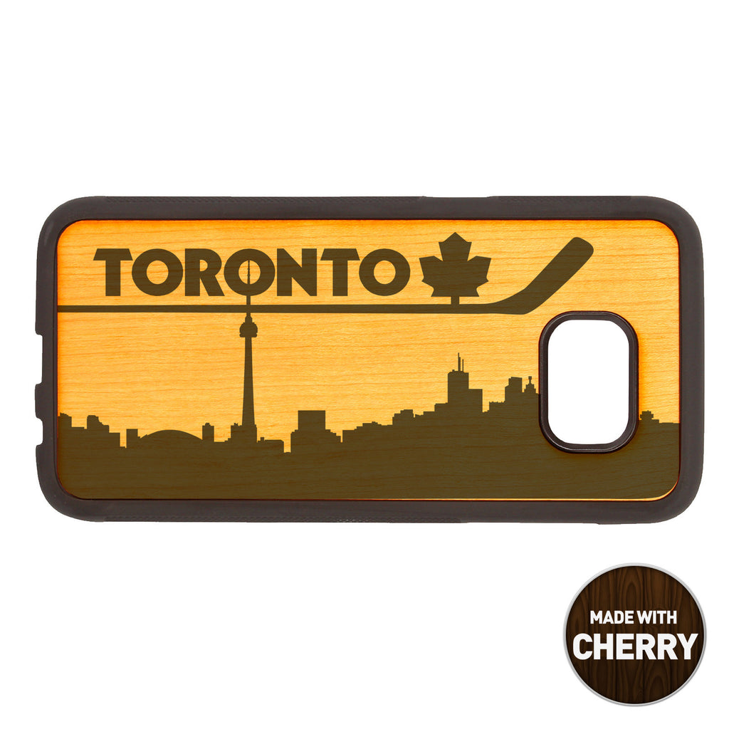 Toronto Skyline Wooden Phone Case / Skyline Series iPhone case - iWood inc