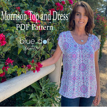 Load image into Gallery viewer, Morrison Top and Dress PDF