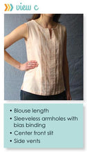 Load image into Gallery viewer, Josephine Tunic Blouse PDF
