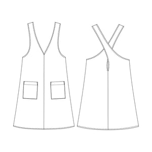 KATY - Pinafore Dress PDF