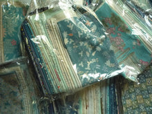 Load image into Gallery viewer, Blue Kimono Japanese Silk Remnants Set Grab Bag