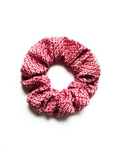 Load image into Gallery viewer, Silk Scrunchies, Wine Red Kimono Scrunchy