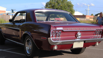 Family Ties: Linda And Bruce Showcase Their 1968 Ford Mustang