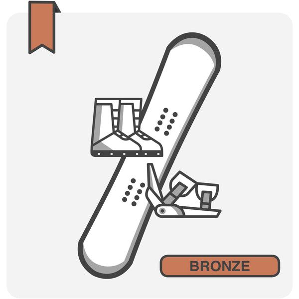 BRONZE Snowboard Package