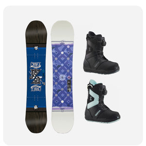SILVER Snowboard Package