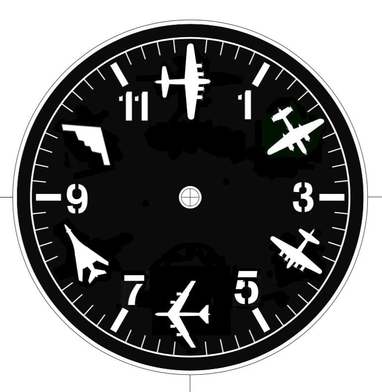 Custom Aviation Inspired Timepieces
