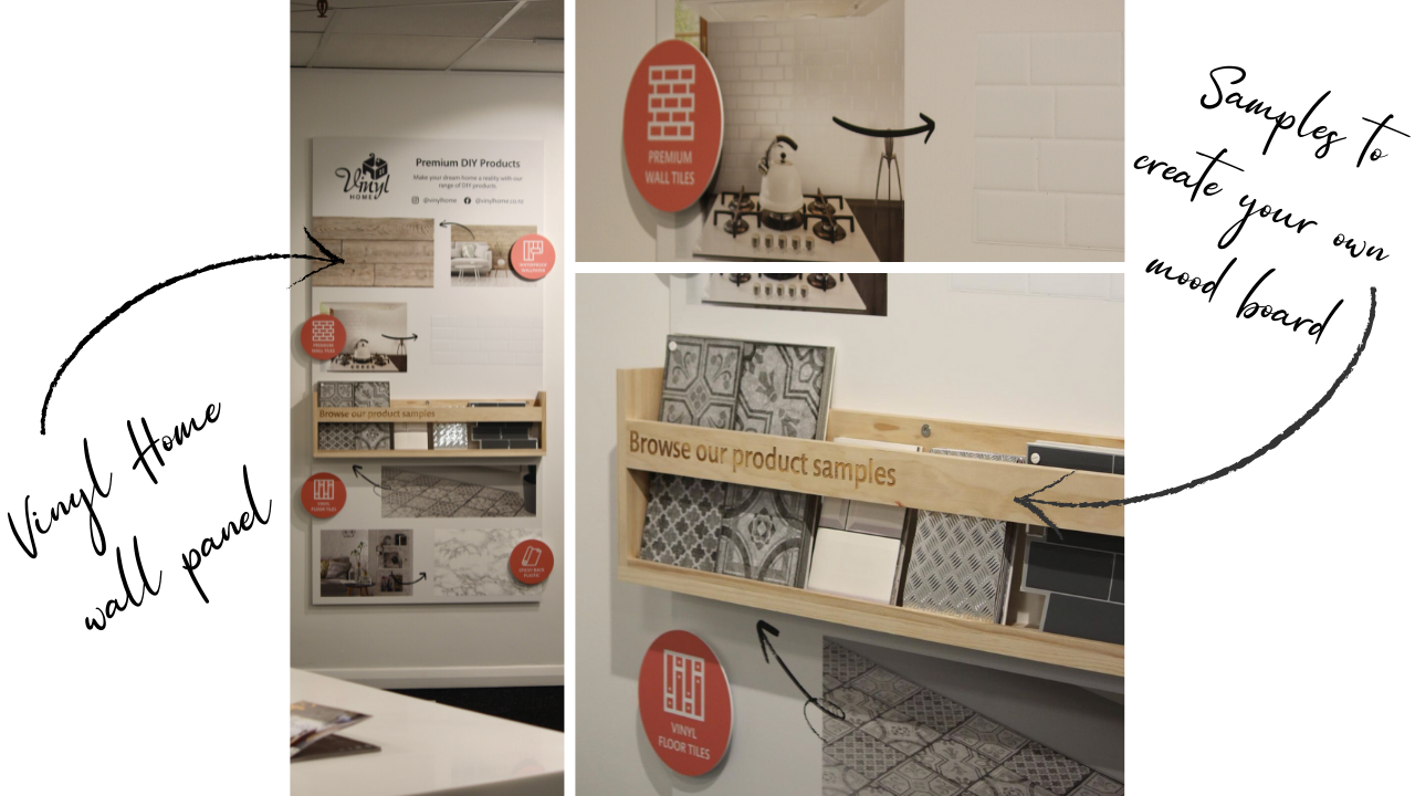 Vinyl Home Showroom at Home Ideas Centre