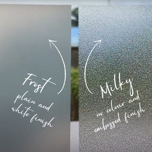Frost Static Cling - 67.5cm x 1.5m - Vinyl Home®