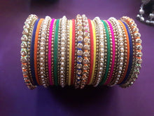 Load image into Gallery viewer, Multi colored bangles