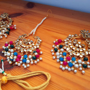 Maya Kundan Necklace Set
