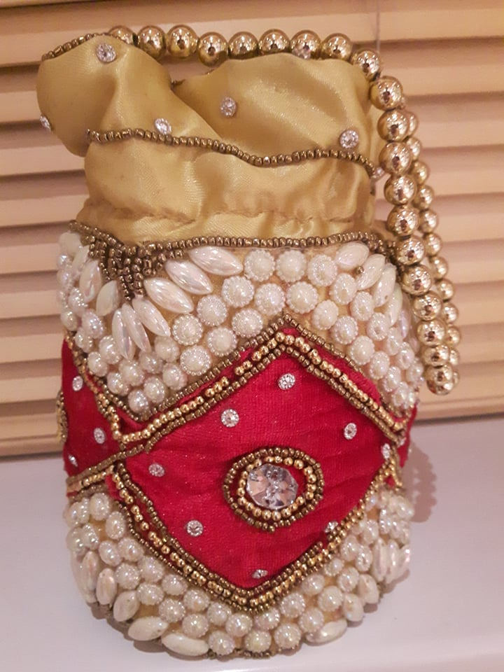 Embellished Potli Bag