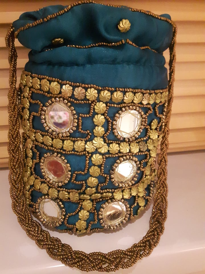 Mirror Potli Bag