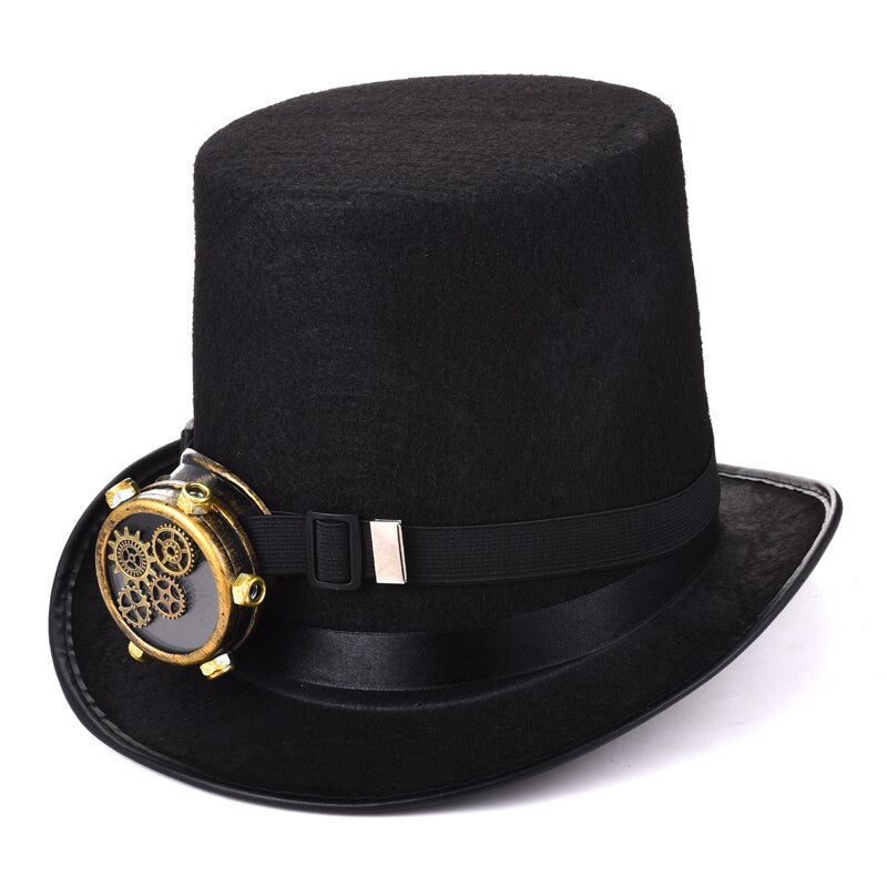 Victorian Steampunk Top Hat