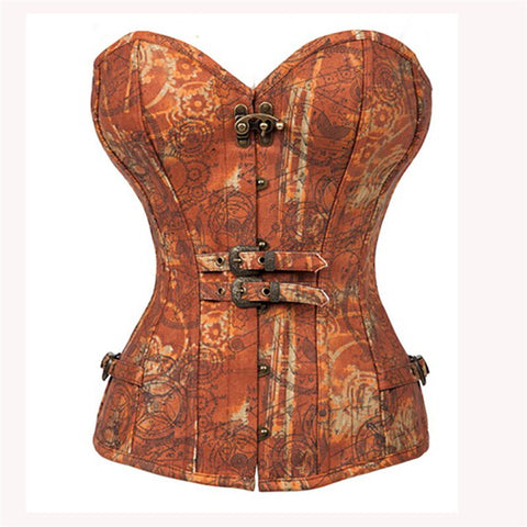 Women Steampunk Corset Sexy Punk