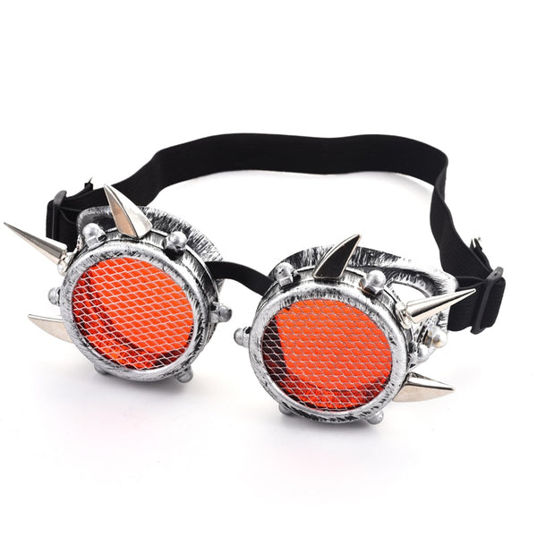 Steampunk Goggles Spikes Goggle Punk Unisex