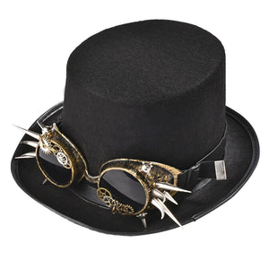 Steampunk Top Hat Fashion Fedora Hat