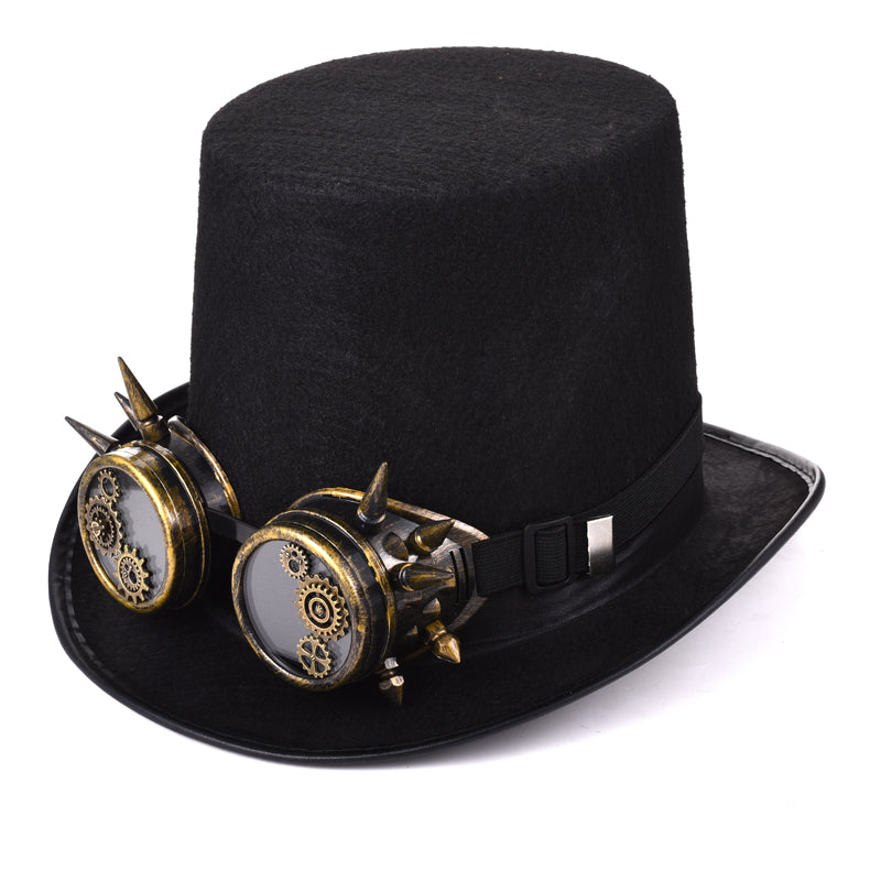 Steampunk Men Women Steampunk Top Hat