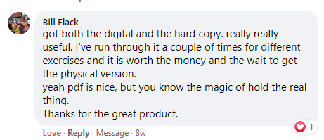 "A customer comment about The Essential Worldbuilding Blueprint and Workbook. ""Really, really useful. It's worth the money."""
