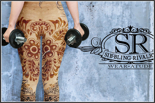 SR LEGACY ~ Spandex Leggings - SIB.BLING RIVALRY