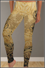 Load image into Gallery viewer, SR HOT & WILD ~ Ocher Spandex Leggings - SIB.BLING RIVALRY