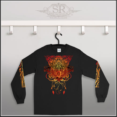 BLAZE ~ Men's Long Sleeve Shirt - SIB.BLING RIVALRY