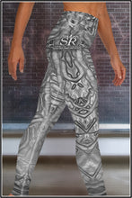 Load image into Gallery viewer, ALIEN GRUNGE ~ Yoga Leggings - SIB.BLING RIVALRY