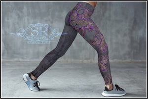 PASSION FISH ~Spandex Leggings - SIB.BLING RIVALRY