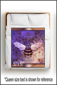 BEE WONDERFUL ~ Throw Blanket - SIB.BLING RIVALRY