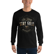 Load image into Gallery viewer, Stay Gold ~ Unisex Long Sleeve Shirt - SIB.BLING RIVALRY