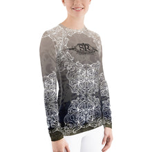 Load image into Gallery viewer, TRIBAL TUSK ~ Women's Rash Guard - SIB.BLING RIVALRY