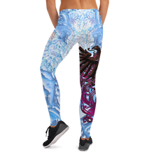Load image into Gallery viewer, Winter Phoenix Leggings - SIB.BLING RIVALRY