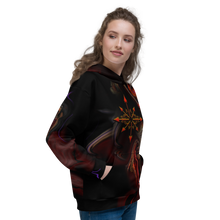 Load image into Gallery viewer, Wearing' Chaos ~ Unisex Hoodie - SIB.BLING RIVALRY