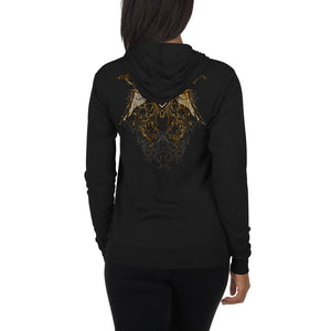 SR WINGS ~ Unisex zip hoodie - SIB.BLING RIVALRY