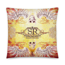 Load image into Gallery viewer, SILVER WINGS ~ LG Throw Pillow - SIB.BLING RIVALRY