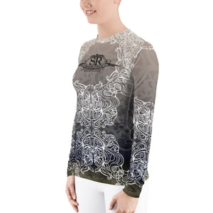 TRIBAL TUSK ~ Women's Rash Guard - SIB.BLING RIVALRY