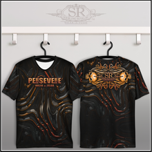 Load image into Gallery viewer, PERSEVERE ~ Crew Neck T-shirt - SIB.BLING RIVALRY