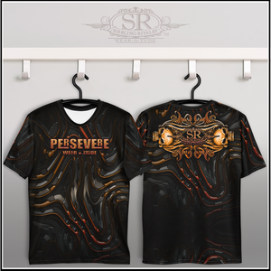 PERSEVERE ~ Crew Neck T-shirt - SIB.BLING RIVALRY