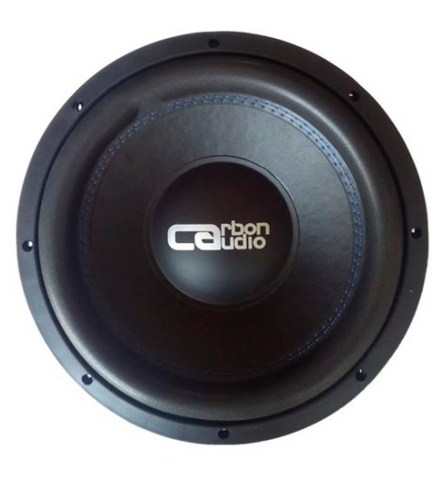 "Subwoofer Carbon Audio 12"" Pulgadas Doble Bobina 800w"