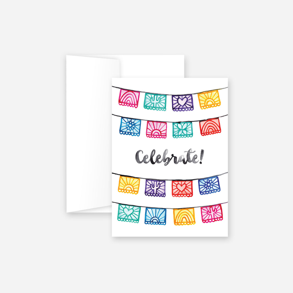 Celebration Flags Greeting Card