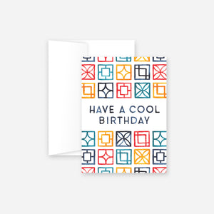 Cool Birthday Greeting Card
