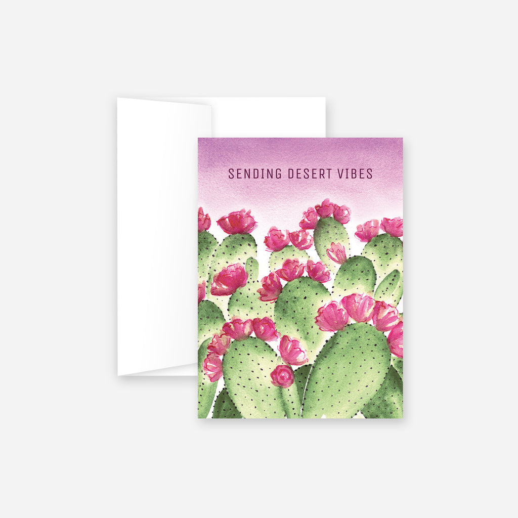 Sending Desert Vibes Greeting Card