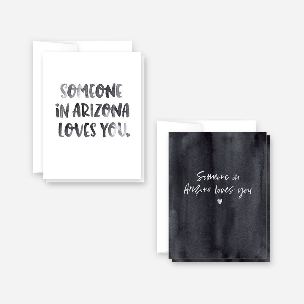 Someone in Arizona Loves You Notecard Set