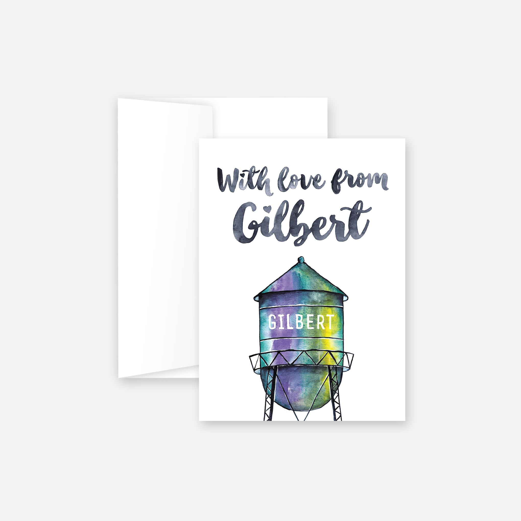 With Love From Gilbert Greeting Card