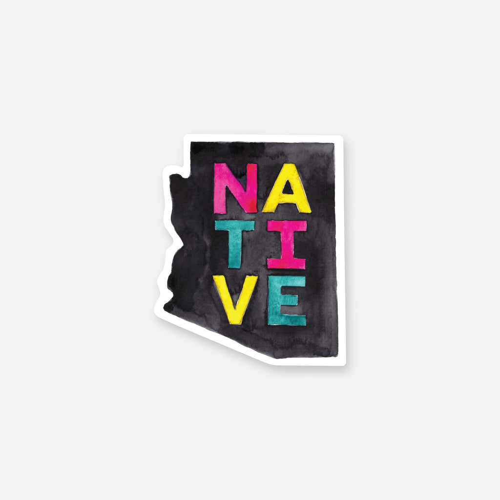 Arizona Native Vinyl Sticker