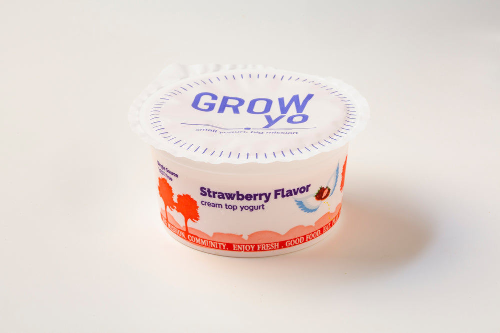 GROWyo Strawberry - 4 oz. cup