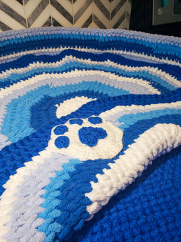 Crochet Pet Bed - Go Local Pets